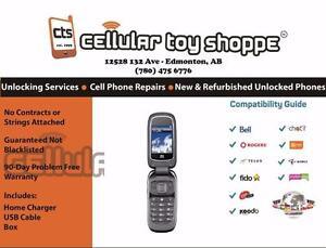 ZTE Z222 Flip Phone Unlocked - LIKE NEW
