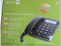 BT Corded Hands Free Big Buton Phone and Loud control Hands Free Phone, both with full instructions.