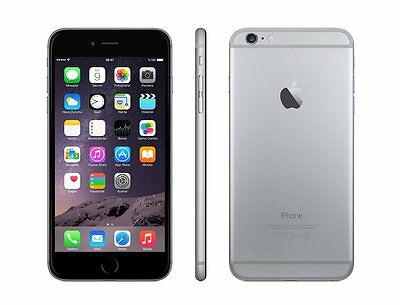 Apple iPhone 6 16GB Space Gray - GSM Factory Unlocked 4G iOS Smartphone