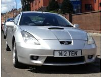 TOYOTA CELICA COUPE - 1.8 VVTi 3dr 2002 ( Low Price possibly needs work on Piston Rings )