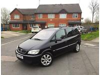 **2005 55 REG VAUXHALL ZAFIRA BREEZE 1.6 7 SEATER LONG MOT TOP SPEC 100% BRILLIANT RUNNER BARGAIN**