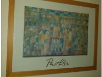 Paul Klee large framed picture