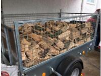 Trailer load of logs - firewood