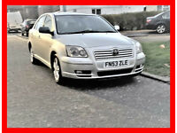CHEAP -- Toyota Avensis T3 -- New Engine Done 35000 Miles -- Part Exchange OK -- Low Cost Car