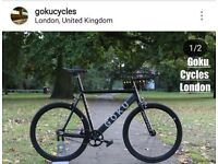 SALE free to customise alloy single speed track bike road bike fixie fixed gear bicycle qa