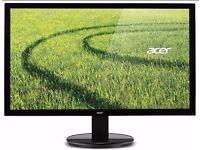 NEW Acer K222HQL 21.5 inch LED Monitor - Full HD 1080p, 5ms Response, DVI