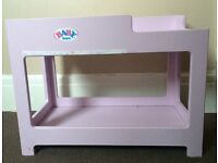 Baby Annabelle Dolls Carrier & Babyborn bunk beds