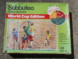 SUBBUTEO 1978 World Cup Edition Complete with its 3 Original Teams