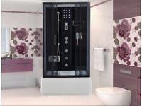 New ETNA Imperial Shower Cabin With Hydro Massage 120x80cm