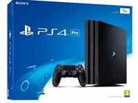 New Sony PlayStation 4 Pro Console - Black - 1TB