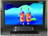 19 Inch Bush HD LCD LED Digital TV Freeview HDMI Full HD screen television