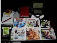 Immaculate Nintendo 3DS XL Bundle (incl. lots of games, case, box, charger, manual, etc)