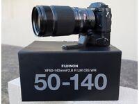 Fujifilm XF50-140mm f2.8 lens or swap with XF56mm + XF14mm (Fuji XF50-140 XF56 XF14 Fujinon)