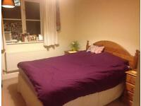 Lovely double bedroom in shared flat