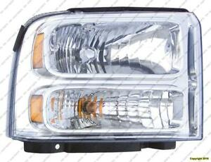 Head Light Passenger Side High Quality Ford F250 F350 F450 F550 2005-2007