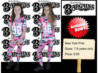 New York Pink 7-8 Years