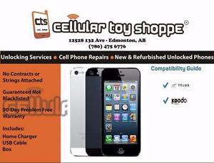 iPHONE 5 64GB Telus/Koodo - LIKE NEW