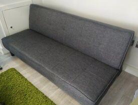 Patsy Fabric Clic Clac Sofa Bed - Charcoal