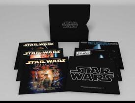 Star Wars vinyl box set of all 6 movies - vinyl records