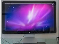 "Apple Thunderbolt 27"" Display + original box - excellent condition"