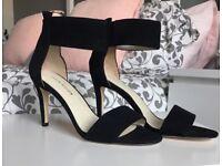 Karen Millen Black sandal heals RRP £125 brand new size 4