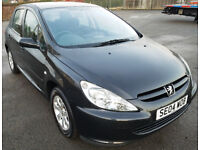 Peugeot 307, Cheap to run, clean car inside and out, long MOT, 5 doors, 490 £ -open to offers