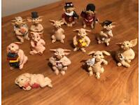 Collection of Pigtails figurines