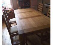 Quality oak table