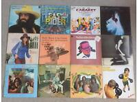 12 vinyl albums. Pop and show tunes.