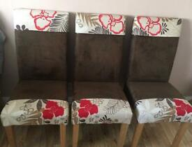 Dining Chairs £25.00 each