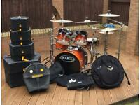 Mapex Pro M Drum Kit W/LOTS of Xtras
