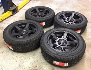 "20"" FAST HD Series Wheels 6x135 and All Terrain Tires 275/55R20 (Ford F-150 Trucks)"
