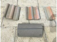 Redland Double Roman roof tiles free for uplift