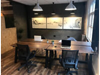 Rent desk space from £150 per month full time. Stunning City centre office space
