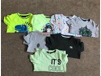 Boys T-shirt's 3/4yrs