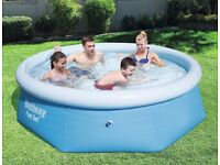 BESTWAY 8FT PADDLING POOL BRAND NEW IN BOX