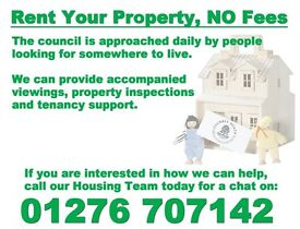 let your property - no fees