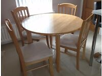 Dinning table an chairs