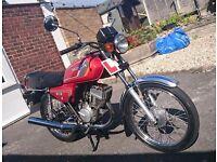 Honda H100 S 99cc classic motorcycle 1985