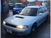 *** SUBARU LEGACY GT TWIN TURBO 280BHP MANUAL JAP IMPORT (SPARES OR REPAIRS) *** IMPREZA WRX STI JDM