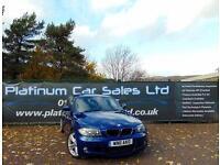 BMW 1 SERIES 120D M SPORT (blue) 2011