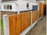 Fencing supplies fence post , gravel boards , fence panels and gates