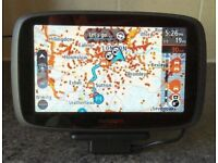 TomTom Go 5100 sat nav with lifetime world maps, speed cameras and live traffic