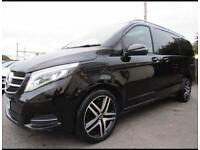 Mercedes Benz E Class / V Class / S class for PCO hire