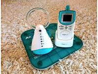 Angelcare AC401 sound and movement baby monitor