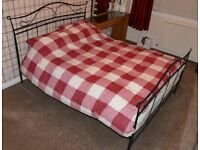 King Size Metal Bed Frame.