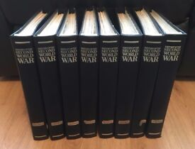 Purnell's History of the Second World War ....( FULL 8 VOLUMES )