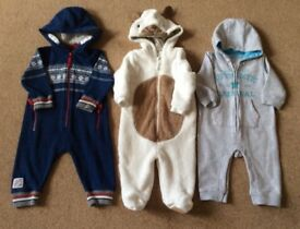 Baby All in Ones 6 - 9 Months -3 For £5