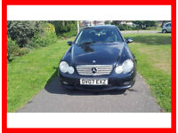 2007 Mercedes-Benz C Class 2.1 C220 CDI Sport --- Diesel --- Part Exchange Welcome --- Drives Good