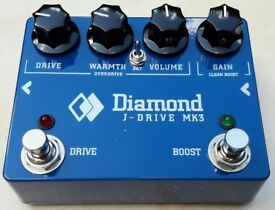 Diamond J-Drive Mk3 Boost / Overdrive Pedal